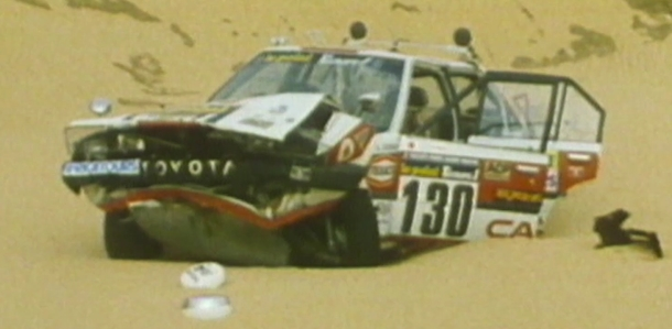 Tormenta de arena del Teneré (Dakar 1983).