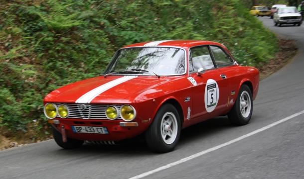 Subida a San Marcial 2019. Alfa Romeo GTV
