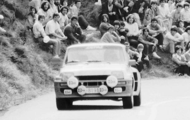 Juan C Pradera. Renault 5 Turbo