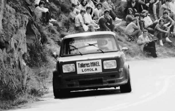 Manu Garmendia. Simca Rallye