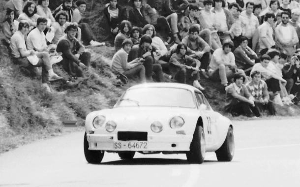 José Miguel Gabilondo. Alpine A110 1600
