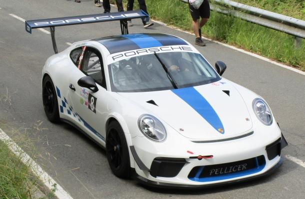 Bruno Scherer. Porsche 911 GT3