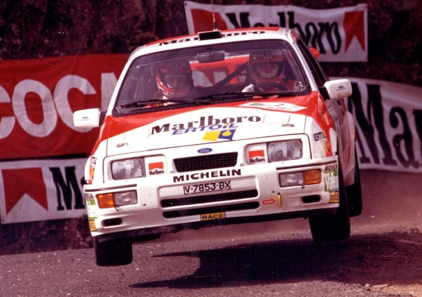 Carlos Sainz. Ford Sierra RS Cosworth