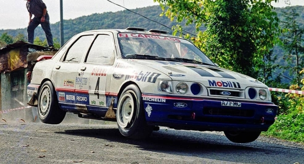 Ford Sierra RS Cosworth 4x4. Delecour.