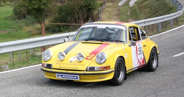 Subida a Urbasa 2019. Porsche 911 Turbo. Esteban García
