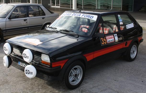 Rallye Bidasoa Clasicos. Ford Fiesta XR2i