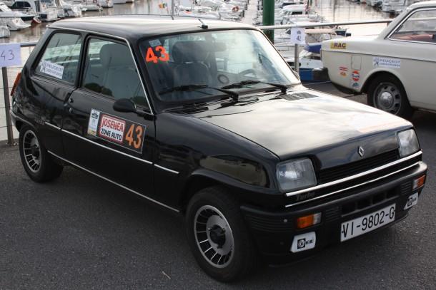 Rallye Bidasoa Clásicos. Renault 5 Copa Turbo