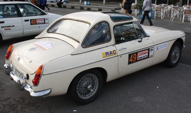 Rallye Bidasoa Clásicos. MG B