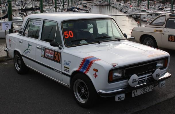 Rallye Bidasoa Clásicos. SEAT 124 FL