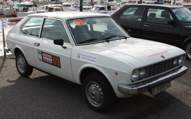 Rallye Bidasoa Clásicos. SEAT 128 3p