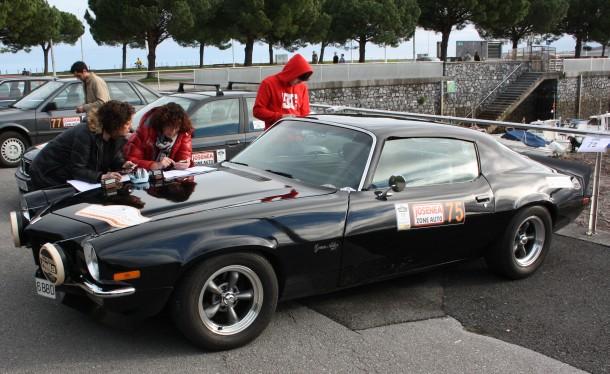 Rallye Bidasoa Clásicos. Chevrolet Camaro Z28