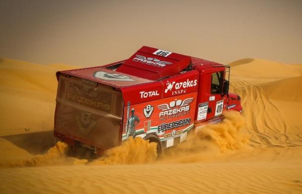 Africa Race 2020. Scania nº416 de Karoly Fazekas