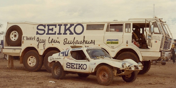 Equipo Seiko Paris Dakar 1982