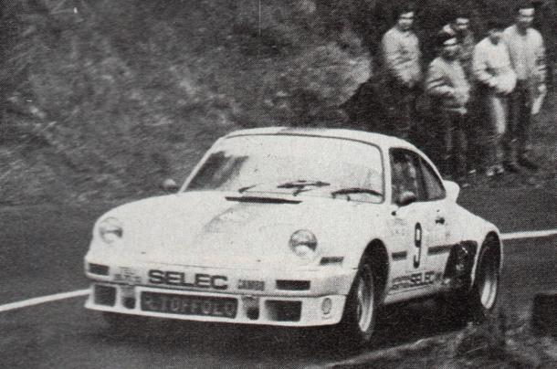 Raimond Toffolo. Porsche 911 SC.