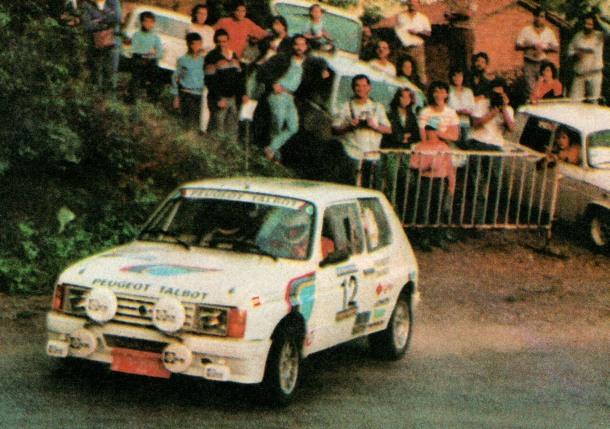 Talbot Samba Grupo B. Borja Moratal
