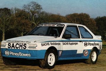 Ford Escort XR3i 4x4. Martin Schanche