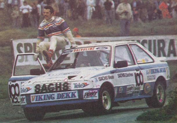 Mertin Schanche. Ford Escort XR3i 4x4