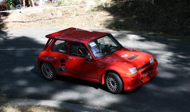 Renault 5 Turbo. Subida a San Marcial 2020