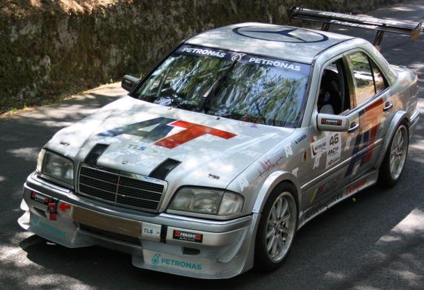 Mercedes W202 DTM. Subida a San Marcial 2020