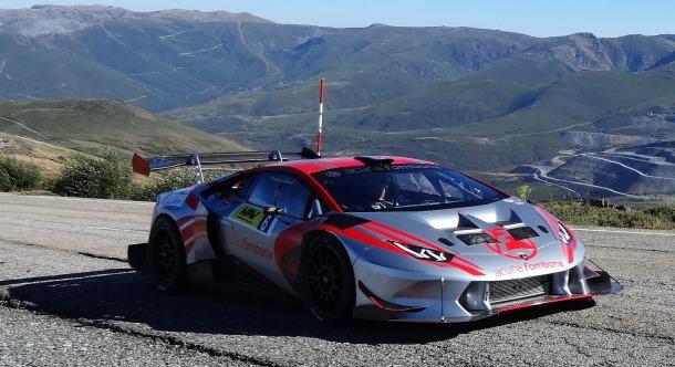 Subida de la Pizarra 2020. Lamborghini Huracán