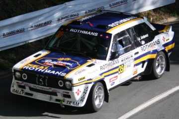 Fiat 131 Abarth. Subida Jaizkibel 2020