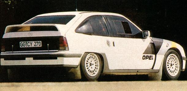 Opel Kadett 4x4 Grupo S