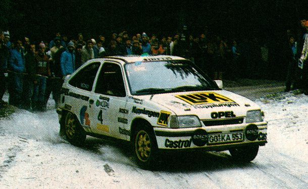 Opel Kadett GSi Grupo A