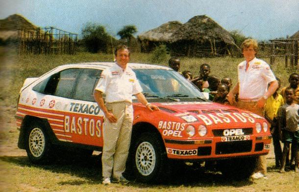 Opel Kadett E 4S Dakar.
