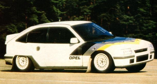 Opel Kadett E 4S Grupo S 4x4