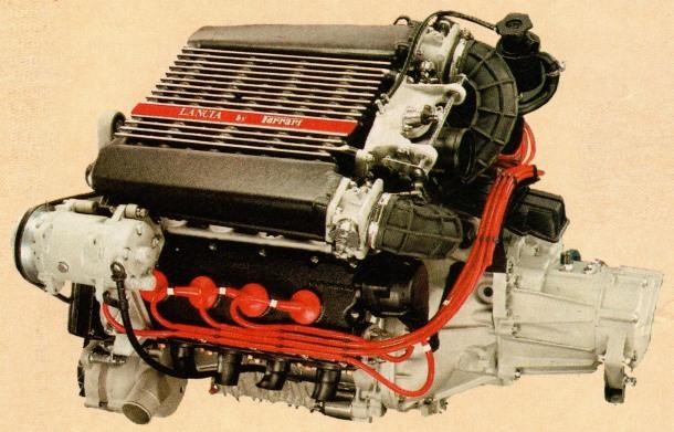 Lancia Thema motor Ferrari