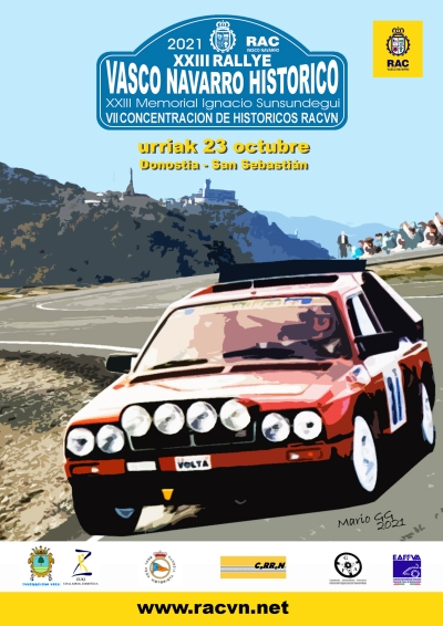 cartel Rallye Vasco Navarro 2021