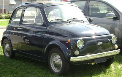 FIAT 500. Vista Frontal