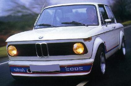 BMW 2002 Turbo. Vista frontal