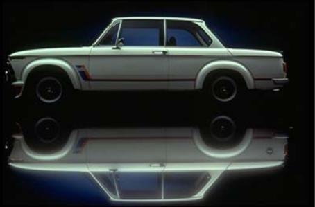 BMW 2002 Turbo. Vista Lateral