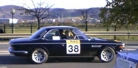 BMW 3.0 CSI. Vista lateral.