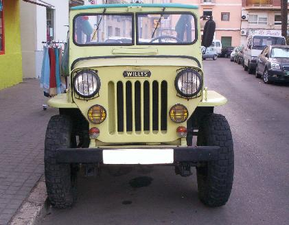 Jeep Willys CJ-3B, Tapa alta.