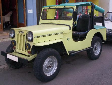 Jeep Willys CJ-3B, Vista Lateral