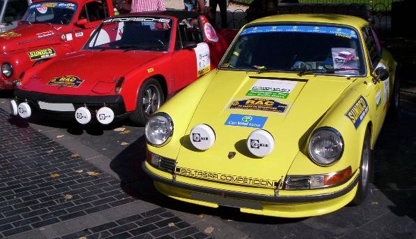 VW-Porsche 914 y Porsche 911 Carrera. IX Memorial Ignacio Sunsundegui.