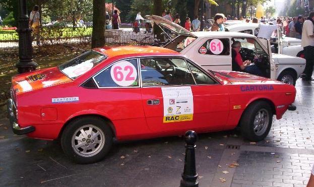 Lancia Beta 2000. IX Memorial Ignacio Sunsundegui.