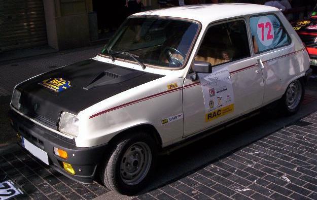 Renault 5 GTL, Caracterizado como Reanult 5 Copa