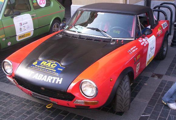 FIAT 124 Abarth.