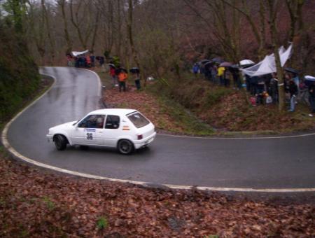 Peugeor 205 Rallye 1.6 de Imanol Oskoz (Eguzki Sport)
