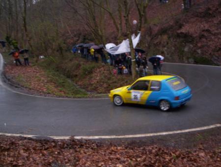 Peugeot 205 Rallye 1.6 de Gabriel Ripodas (Eguzki Sport)