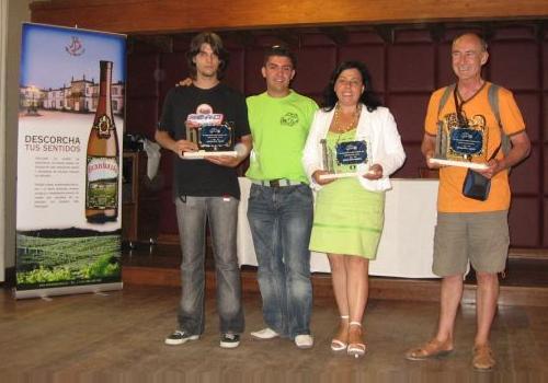 III Concentración de 2CV de las Rías Baixas. Participantes premiados.