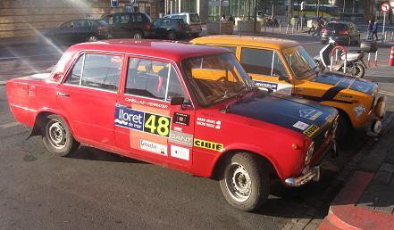 SEAT 124 D preparado para Rally.