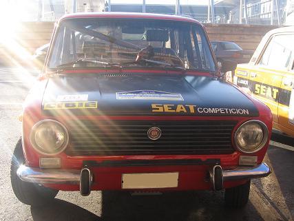 SEATs 124 preparados para Rally