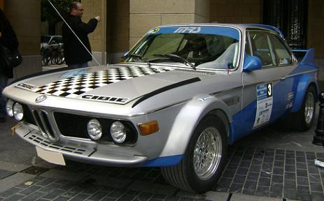 BMW 3.0 CSI Jesús Echave y Juanan Delagado