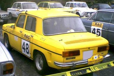 VI Memorial Ignacio Sunsundegui. Renault 8TS.