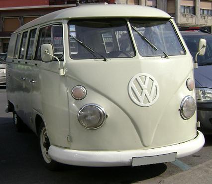Volkswagen T1. Vista lateral.