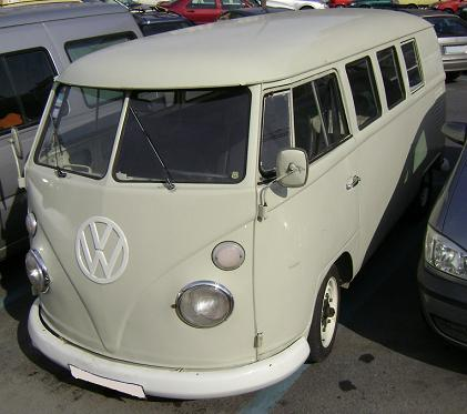 Volkswagen T1 vista lateral.